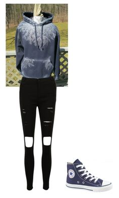 """Jack frost inspired"" by fluffykitteh13 on Polyvore"