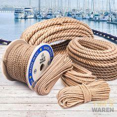 JUTESEIL 6mm bis 60mm Tau Seil Jute Seil Tauwerk Naturhanf Jute Rope Tauziehen in Sport, Bootsport, Bootsteile & Zubehör | eBay