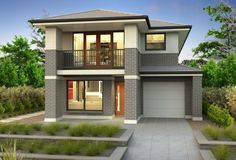 Clarendon Display Homes: Ariel 27 Chilton Facade. Visit www.localbuilders.com.au/display_homes_nsw.htm for all display homes in New South Wales