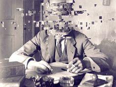 Glitch Art: David Szauder and his Failed Memories - The Eye of Photography Magazine Glitch Art, Glitch Kunst, Vhs Glitch, Human Memory, Brain Memory, Photocollage, A Level Art, Gcse Art, Vanitas