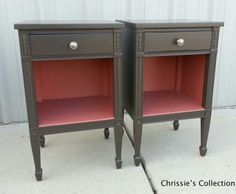 Chrissie's Collection - Paint Portfolio ~ Tablls and Chairs