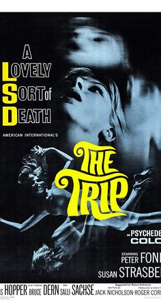 The Trip - 1967 - Movie Poster Magnet Horror Posters, Cinema Posters, Movie Posters, Movie Titles, Film Movie, Cult Movies, Horror Movies, Comedy Movies, The Trip 1967