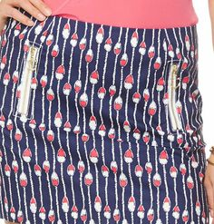 Lilly Pulitzer Tate Skirt in Swim Lanes