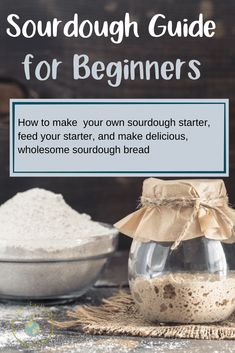 This sourdough guide is for beginners and and seasoned sourdough bakers alike. I will show you how to make your own starter and share recipes and resources.