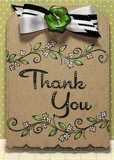 Thank-you-Tag by liane3322, via Flickr