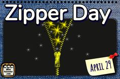 Visit the post for more. No Pants Day, First Friday, Holiday Calendar, Google Calendar, Zipper, Zippers