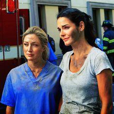 Rizzoli & Isles | Maura & Jane | Sasha Alexander & Angie Harmon