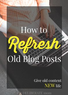 This is one of those blogging tips that many bloggers would rather forget. However, every piece of content on your blog has the potential to increase readership! Of all the blogging ideas, you embrace today, this one is critical: Learn how to refresh and resurrect old blog posts.