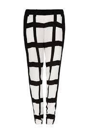 SASS AND BIDE - The Cartoonist Block Print Pant, $190.00 by The Label Boutique. High-contrast block prints make a bold statement on these lightweight sass & bide pants. A slouchy fit adds a casual touch, while back welt pockets and side hip pockets structure the look. Covered elastic waist. Fabric: voile. Shell: 100% viscose. Trim: 100% polyester. Dry clean.  PRE LOVED - PERFECT CONDITION  $290 STILL IN STORES