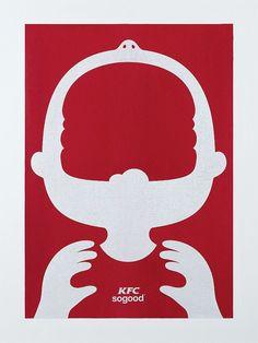 BBDO Kuala Lumpur sort une campagne print minimaliste pour KFC
