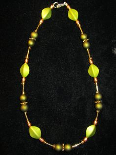 FREE CHRISTMAS GIFT  Elegant Green Beaded by acjewelrystore, $25.00