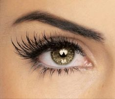 DIY mascara to lenghten your eyelashes.  First, wash an old mascara or nail polish container and fill with:1/4 of the container with Castor Oil1/2 Vitamin E Oil1/4 Aloe Vera GelMix the concoction together as well as you can with your mascara wand.And you're done! Now apply a light layer to lashes (or brows) every night before bed. Castor oil thickens your lashes while aloe vera gel helps lengthen. Vitamin E accelerates length so that  after one month, you'll notice stronger, longer, more beautiful eyelashes.