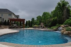 Pool Pictures | Swimming Pool ideas | Custom Pool Pictures | FS Landscaping Contractors