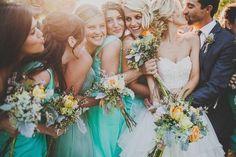 cute bridesmaid photo