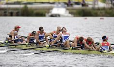 The Great Britain's men's eight picked up a bronze in their race, though the crew were disappointed having been in touch with leaders Germany at the half-way mark