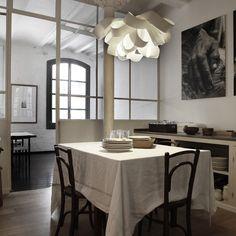 Agatha light, created by Spanish designer Luis Eslava for LZF Modern Interior Design, Interior And Exterior, Interior Windows, Room Interior, Berlin Design, Lamp Inspiration, Large Chandeliers, House Design Photos, Luminaire Design