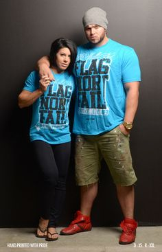 I must have this phrase! I shall not Flag Nor FAIL! Amazing!   ISNFNF T (TURQUOISE/BLK)