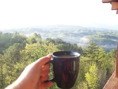 A good cup of joe to start your morning in the smokies!