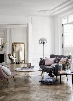 Pastel And Wood Decor | Feng Shui Interior Design | The Tao of Dana