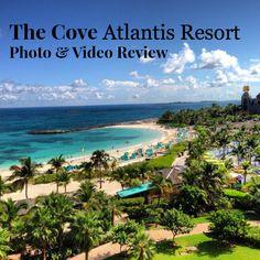 Insider Video and Photo Tour: The Cove at Atlantis Review #atlantis #bahamas