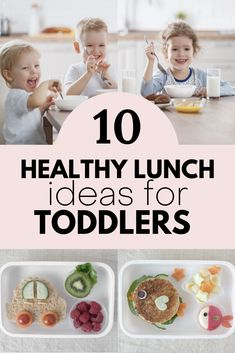 If you're looking for what to make for your toddler's lunch... here are 10 healthy lunch ideas for your tot Healthy Toddler Lunches, Easy Toddler Meals, Scrambled Eggs With Spinach, Spinach And Feta, Protein Pancakes, New Flavour, Picky Eaters, Coconut Flour, Lunch Ideas