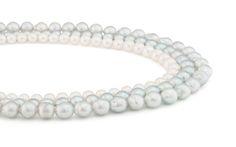 Blue and white Akoya pearls cultivated in Vietnam from the Daniel Moesker Pearl Collection