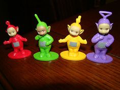 Ollivander's 2nd birthday - Teletubbies cake toppers I ordered of ebay :)