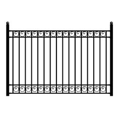 Are you seeking high quality ornamental wrought iron fence without the high price. We have the perfect alternative for you. We offer designs you will not find anywhere else. All of our fence capture the Rod Iron Fences, Iron Fence Panels, Steel Fence Panels, Metal Deck Railing, Metal Fence, Porch Railings, Wrought Iron Stairs, Aluminum Fence, Diy Fence