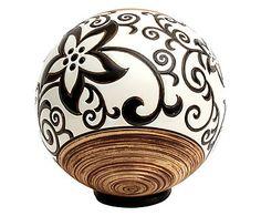 Esfera Decorativa Flor Estrela