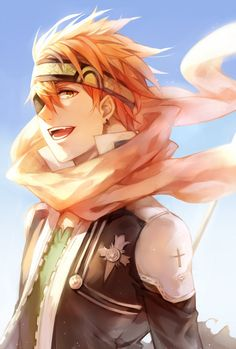 Lavi (D. Gray Man) Guys never has my heart fluttered so fast for a real guy. This an anime character does this to me! Why can I not be part of that world. That's right I would be killed in a second if I was.