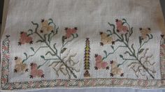 OTTOMAN SILK EMBROIDERED TOWEL | eBay