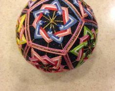 3 inch one of a kind temari ball