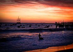 Wow! Amazing sunset @ Santa Maria, Sal, Cape Verde #Kaapverdie
