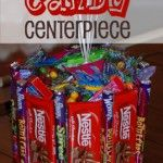 Candyland Party:  Candy Centerpiece