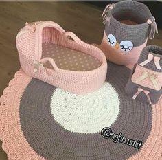 Crochet Lovies - How to für absolute Diy Crochet Basket, Crochet Basket Pattern, Crochet Patterns, Crochet Baby Clothes, Newborn Crochet, Knit Rug, Knit Crochet, Crochet Shoulder Bags, Crochet Carpet