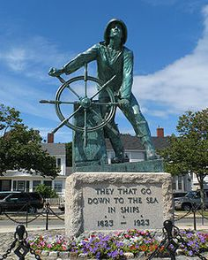 """Gloucester, MA.  Site where they filmed """"The Perfect Storm""""... I'm glad I stopped by to visit!"""