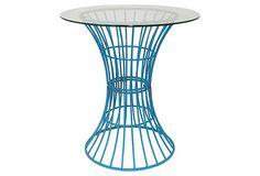 Bistro Table, Light Blue on OneKingsLane.com