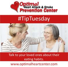 #TipTuesday: Talk to your loved ones about their eating habits. Read tips on how to approach the conversation from Healthfinder.gov here: http://1.usa.gov/1vSAdbB]
