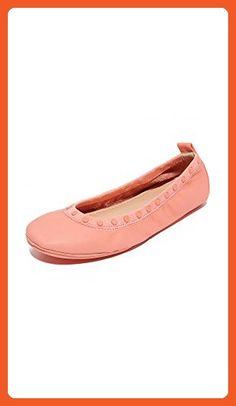 Yosi Samra Women's Samara Studded Flats, Peach Nectar, 11 B(M) US - Flats for women (*Amazon Partner-Link)