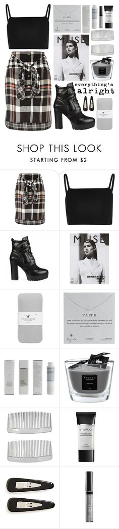 """ART ~99"" by courageousmind ❤ liked on Polyvore featuring River Island, American Eagle Outfitters, Dogeared, Korres, Baobab Collection, John Lewis, Smashbox, France Luxe and Butter London"
