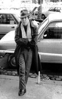 Leonard Cohen -November 1980 (Photo: Alberto Manzano)