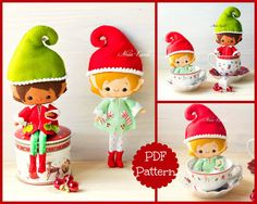 Christmas is right around the corner. Whether you're looking to sew your own version of the Elf on a Shelf, or just a fun Christmas decoration or toy for the kids, here's a collection of the best Christmas elf sewing patterns: