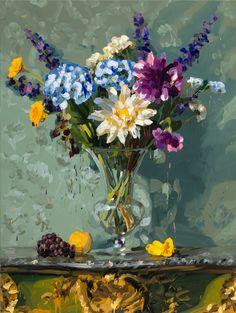 2�0�1�4� �-� �b�o�u�q�u�e�t�3� � - olie op doek - � �2�0�0�x�1�5�0�c�m