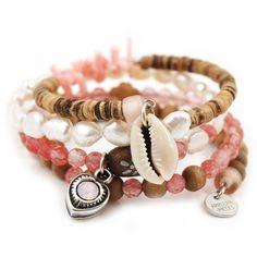 Kokomo armband flamingo