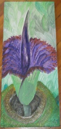 A nagy virág Painting, Art, Art Background, Painting Art, Kunst, Paintings, Performing Arts, Painted Canvas, Drawings