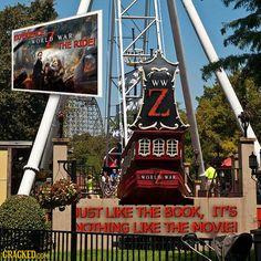 If Every Movie Got An Amusement Park Ride Slideshow | Cracked.com