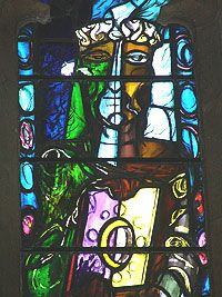 John piper chapel window