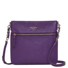 Kate Spade Cobble Hill Ellen. $225. I think I need this for TCU games...