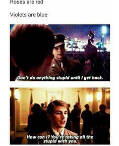 Captain America poem