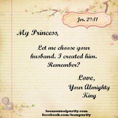 Yes Lord!  true love waits teen sexual purity Christian dating love blog teensexualpurity.com facebook.com/teenpurity